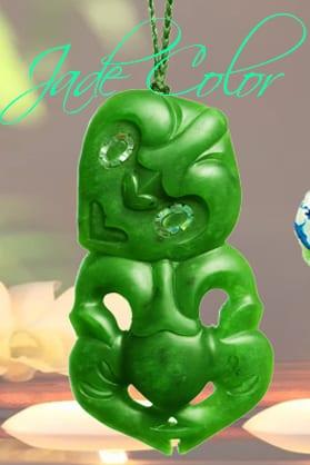 ▷ Jade color ⭐ Conhece todas as cores da pedra de jade?