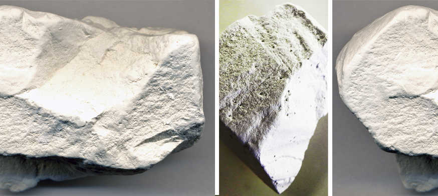 Mineral Caolinita, significado das pedras