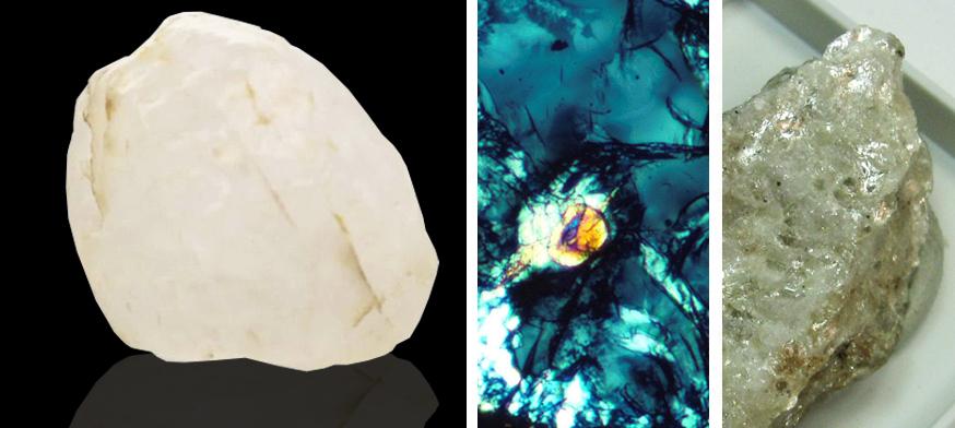 Mineral Coesite, significado das pedras