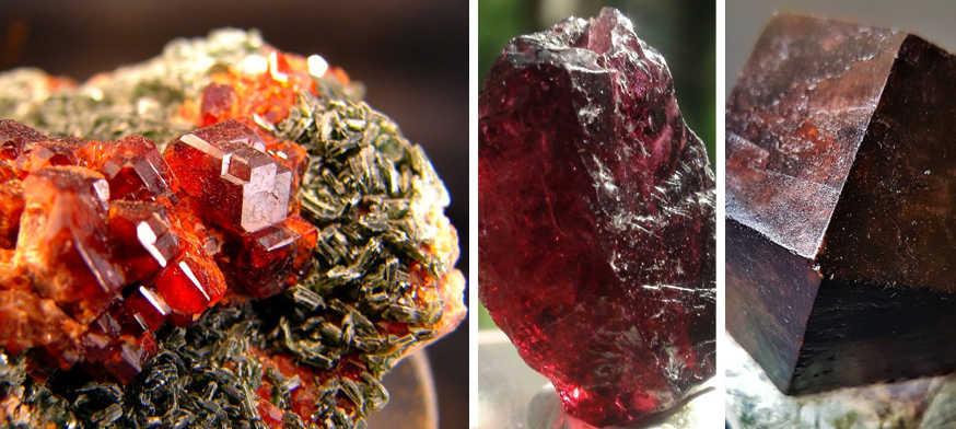 Mineral Piropo, significado das pedras