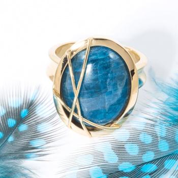 Pedras azuis Apatita