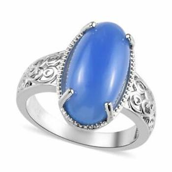 Pedras azuis Calcedonia