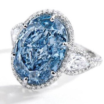 Pedras azuis Diamante Azul