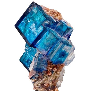 Pedras azuis Halita