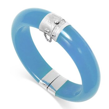 Pedras azuis Jade azul
