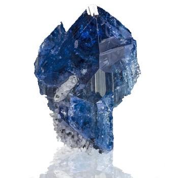 Pedras azuis Scorodita