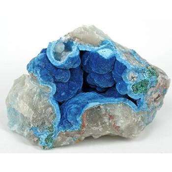Pedras azuis Shattuckite