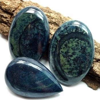 Pedras azuis Vivianita
