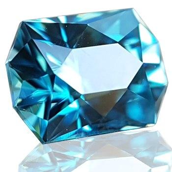 Pedras azuis Zircón