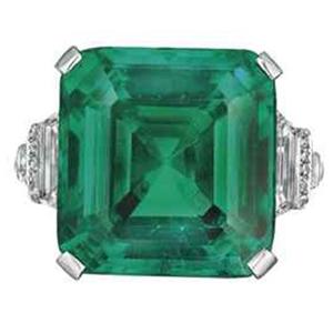 Significado das pedras, The Rockefeller Emerald