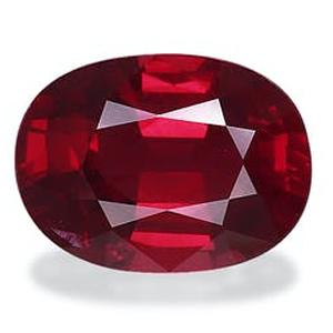Significado das pedras, rubi