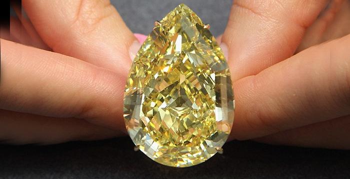 diamante rosa mais caro, diamante mais famoso, Sun of Africa Yellow Diamond