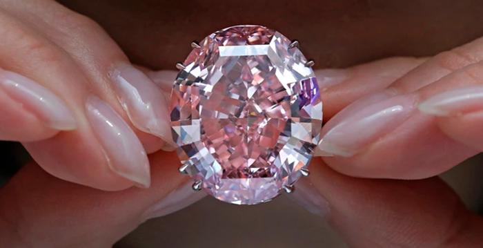 diamante rosa mais caro, diamante mais famoso, pink diamond